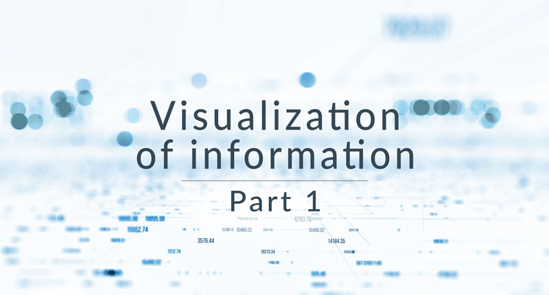 Visualization of information – Telling your studio's story